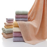 Panno/dell'hotel del cotone di pulizia 100%/lavata/tovaglioli domestici promozionali mano/del viso