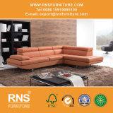 Sofá italiano 638# do couro da mobília da casa de campo do projeto