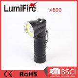 COB bombilla LED Linterna Rechargeble Linternas Tácticas