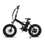 Складные жир шины E велосипед 500W