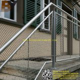 Balcón balaustrada Helideck escalera de cuerda de suspensión puente valla