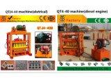 motor diesel4-40 máquina para fazer blocos de QT/máquina de tijolos/máquina para fazer blocos de concreto