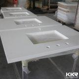 Dessus personnalisé par pierre artificielle de cuisine de Kkr contre-