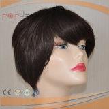 Abrir Wefts barata peluca de mujeres de color marrón (PPG-L-0643)