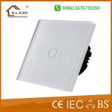 Interruttore elettrico del vetro temperato del comitato del piatto BRITANNICO di tocco