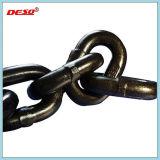 Грифельный черный легированная сталь G80 Anchor звено цепи