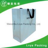 リサイクルされた印刷された買物をする工場紙袋