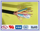 O PVC Multi-Core isolou o cabo de controle selecionado