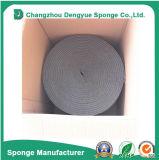Alta striscia di gomma adesiva elastica impermeabile a prova di fuoco della guarnizione della gomma piuma del portello