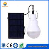 Solar de 1,2 W Bombilla de luz LED para exteriores Home