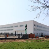 EPS 바위 모직 물자를 가진 강철 구조상 건물 창고