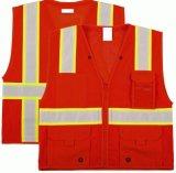 Alto chaleco en varios colores, fábrica directa de la seguridad de la visibilidad