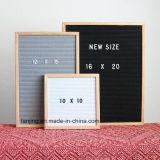 Горячая продажа 340 письма 10*10 дуба деревянная черная считает сменные письмо от производителя системной платы
