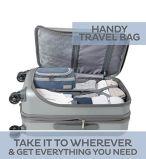 Le sac d'organisateur d'article de toilette, pour les hommes et les femmes de déplacement, se perfectionnent pour des produits de beauté, des articles de toilette et le renivellement, matériau résistant de l'eau
