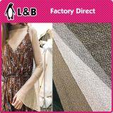Tessuto di maglia del poliestere del Brown del Knit