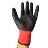 Оптовая торговля 13G нейлон с покрытием из латекса трикотажные рабочие перчатки