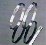 316 частично из нержавеющей стали с покрытием из полиэфирного волокна кабельные стяжки