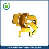 Bck0151 Partie matériau aluminium anodisé avec finition or service pièces de rechange CNC