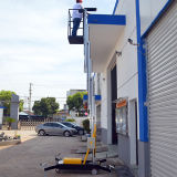 Einzelne Mast-Luftarbeit-Plattform (6m Plattform-Höhe)