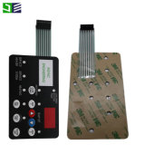 High Quality Flat Keys Not-Tactile Membrane Keypad for Micro Wave Oven