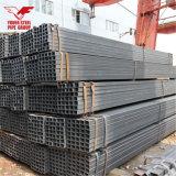 Tubo nero del quadrato del ferro del acciaio al carbonio con 20X20, 25X25, 40X40 e più formato