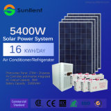 sistema supportabile di energia solare di fuori-Griglia del condizionatore d'aria 5kw per la casa