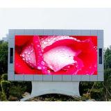Visualización de pantalla al aire libre de P10 LED RGB