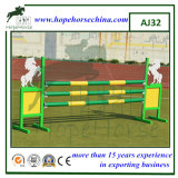 Demostración del caballo que salta para las alas de aluminio