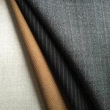 Tela blanca del juego del poliester de las lanas, blanco mezclado de la tela de la adaptación de las lanas, adaptación de los hombres de las lanas