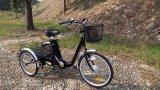 """24 de """" triciclos eléctricos adultos del cargo 3 ruedas con la cabina"""