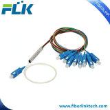 FTTX FTTH Faser Optik-PLC-Teiler-Minimikrobaugruppen-Typ