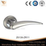 Punho de alavanca do fechamento de porta da liga do zinco da qualidade superior (Z6130-ZR03)