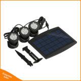 Refletor Solar exterior com 30 PCS lâmpada LED branco para jardim relvado Iluminação de parede