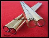 Lo standard conclude il tubo della giuntura di vetro di quarzo
