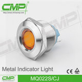 Lámpara experimental del acero inoxidable del CMP 22m m (RGB RGY tricolor)