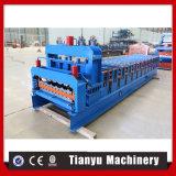 Azulejo automático del panel de la azotea del metal que hace el rodillo que forma la máquina
