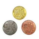 3D personalizadas de alta calidad dobles caras recuerdos Metal Challenge Award Antiqu Coin