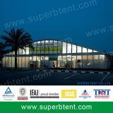 Barraca industrial grande de alumínio forte com os Sidewalls do PVC para o armazenamento