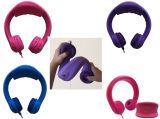 拡張パッドおよび耐久およびFoldableホックが付いている子供のヘッドセット