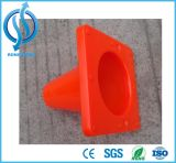 El mini cono más nuevo del tráfico de camino del PVC del 15cm