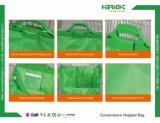 カスタマイズされた再使用可能なFoldableスーパーマーケットのWarterproofのトロリーショッピング・バッグ