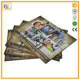 Service d'impression élevé de livre de livre À couverture dure de Qaulity (OEM-GL004)