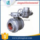 Válvula de entrada giratoria de cerámica neumática