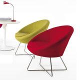 Freizeit-Büro-Möbel-runde Form-Gewebe-Stuhl