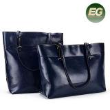 Dameleisure Bag Woman Tote-Beutel-echtes Leder-Handtasche von der China-Fabrik Emg5263