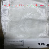 Tessuto del jacquard del cotone di seta, tessuto del jacquard del raso del cotone di seta