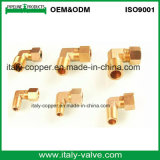 Coude en laiton modifié d'égale d'épanouissement de compactage (IC-9011A)