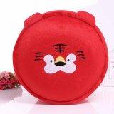 Commerce de gros Nice Cartoon ronde de pliage de couleur rouge sofa gonflable Pouf en Chine