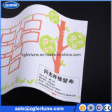 Охраны окружающей среды экологически чистых растворителей струйная печать Блестящие цветные лаки для обоев ткани, Блестящие цветные лаки обои для рекламы и украшение дома