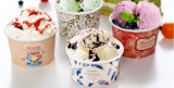 Лучшая цена 10 унции мороженого мороженого Гелато Экономи бумаги наружное кольцо подшипника